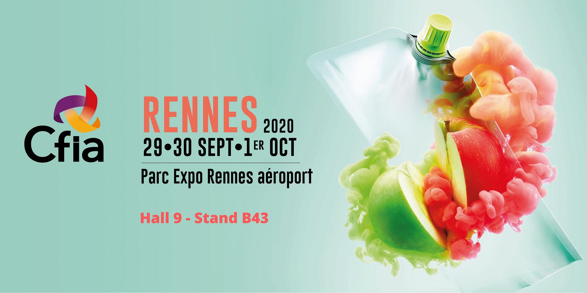 Salon CFIA Rennes Mars 2020